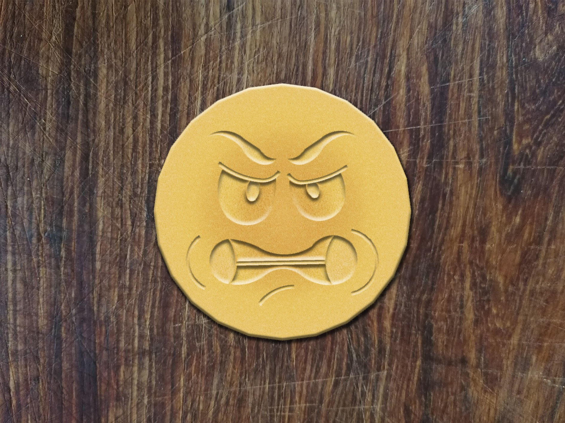 Angry Emoti-Cookie