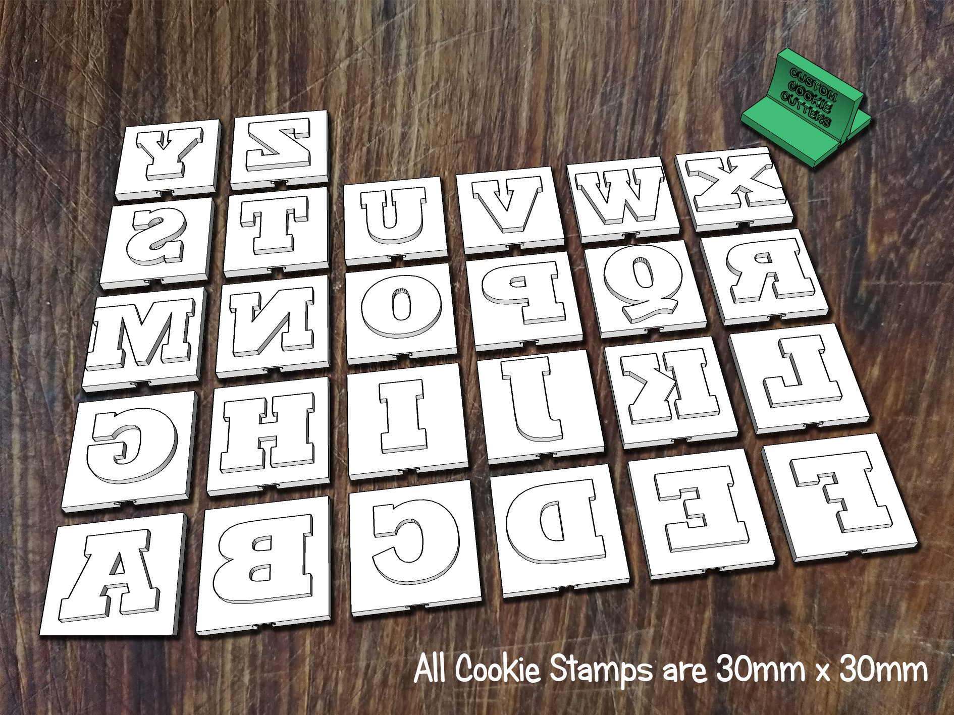 Letters Stamps