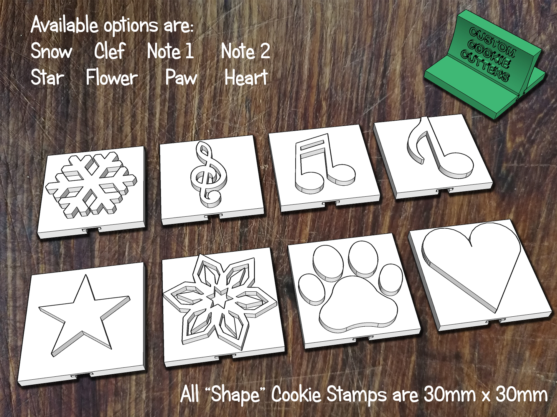 Shapes Stamps