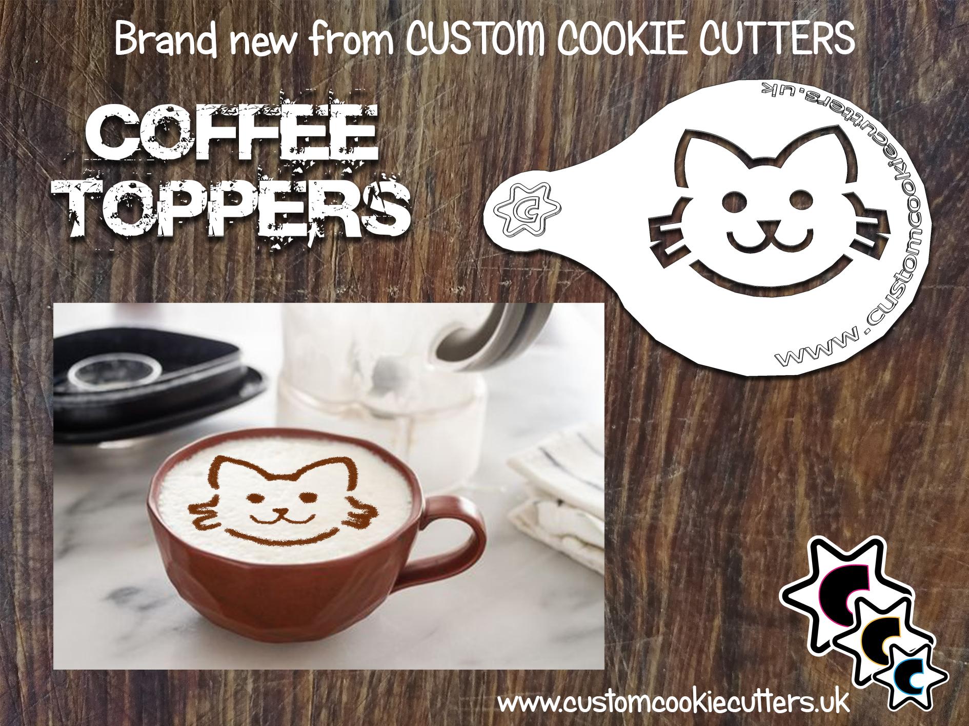Cat Coffee Topper