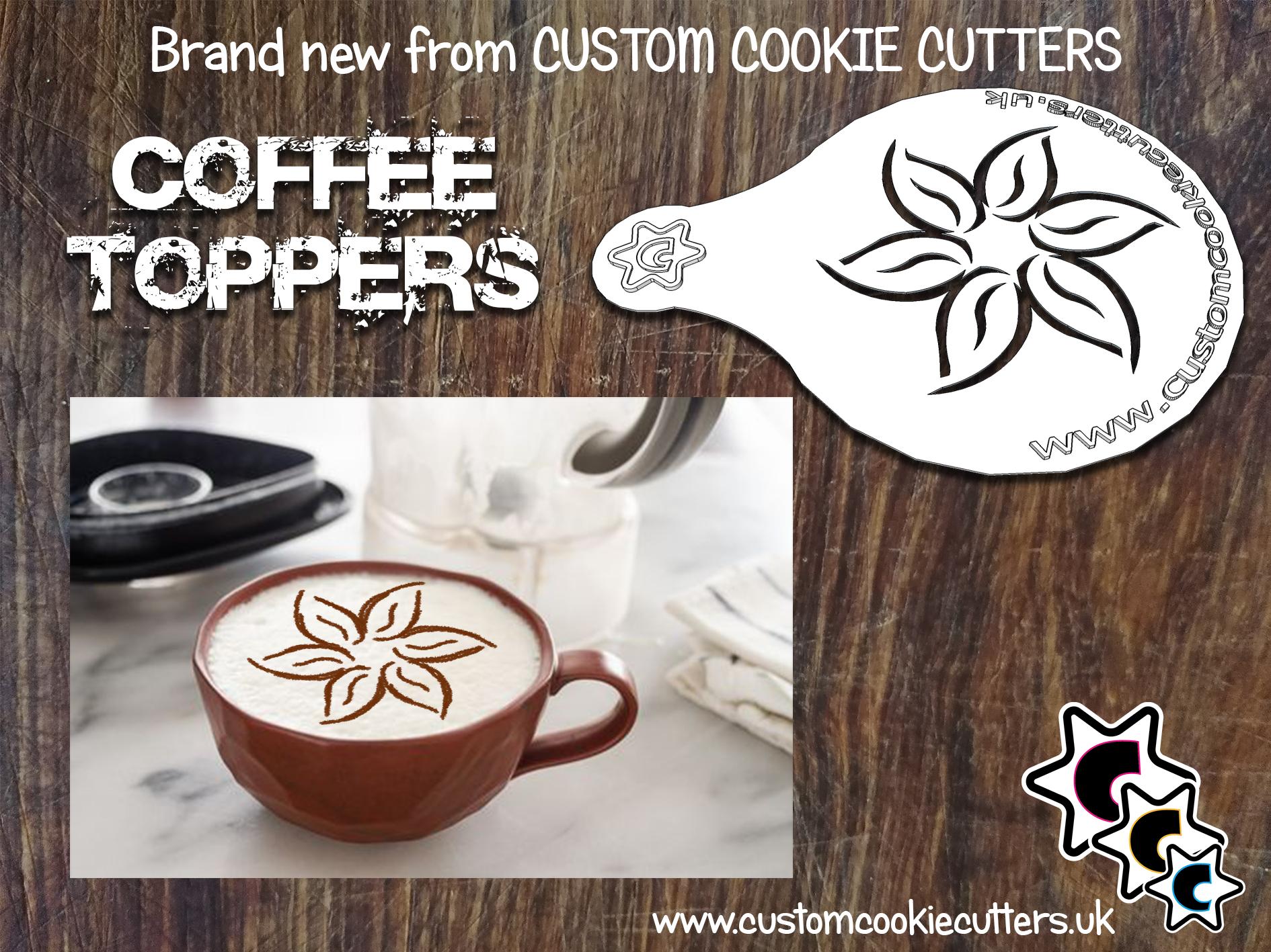 Flower Coffee Topper